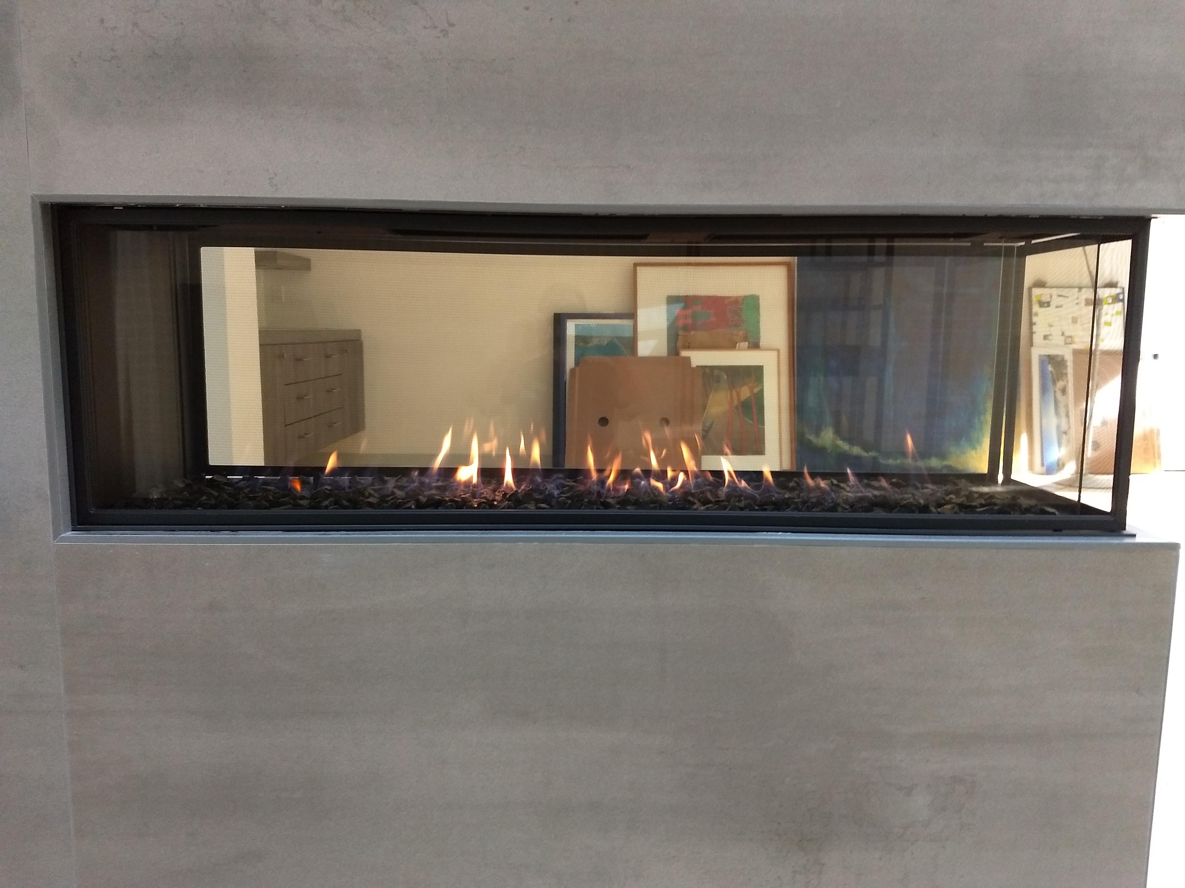 Lucius Peninsula Fireplace Custom Fireside
