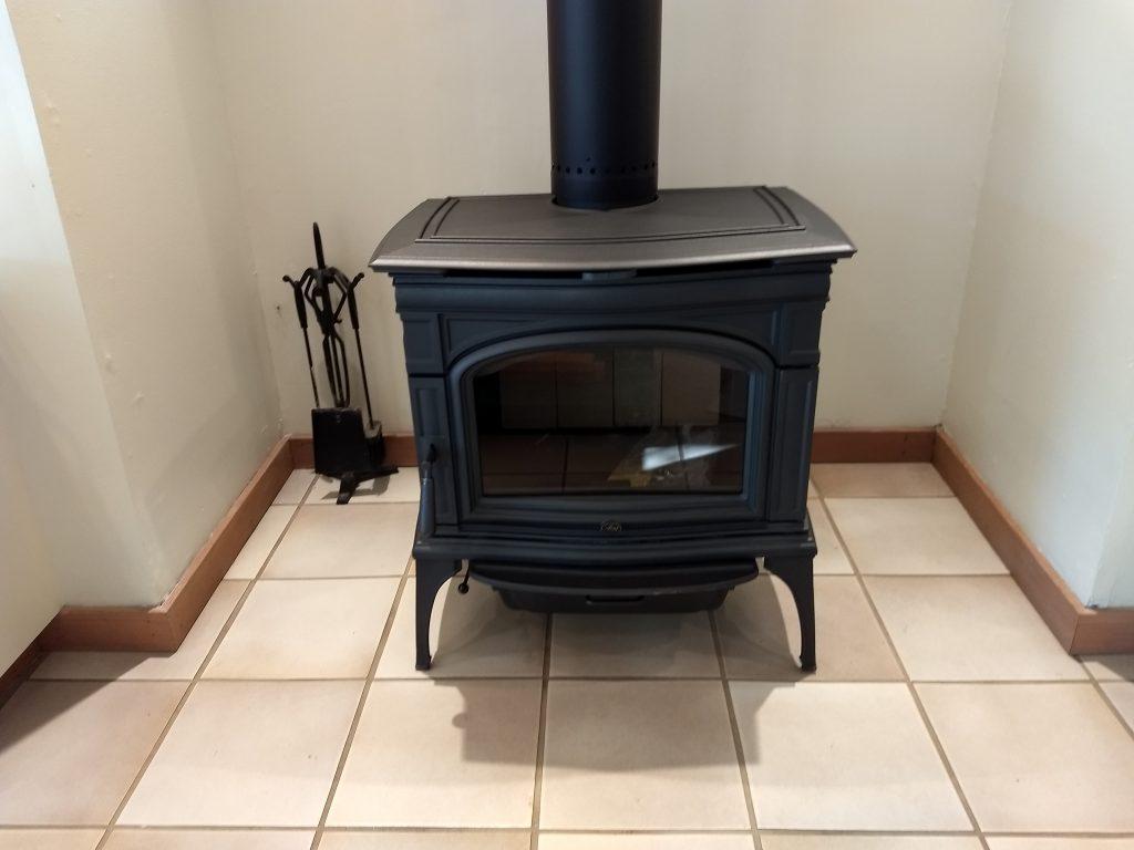Freestanding Wood Burning Fireplace Custom Fireside